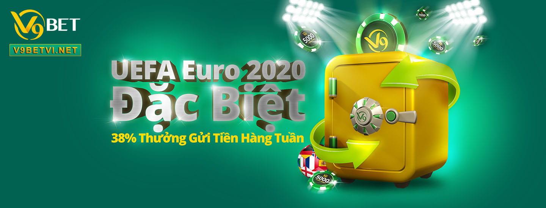 thưởng 38% dịp UEFA EURO 2020 - 2021