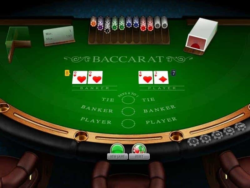 Hãy chơi Baccarat một cách bình tĩnh
